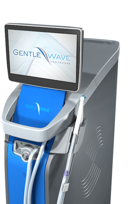 A GentleWave machine for root canals stands ready for use.